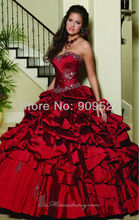 New designer arrivals Ball Gown Charming Elegant fashion Floor-Length prom dresses Hot sale free shipping