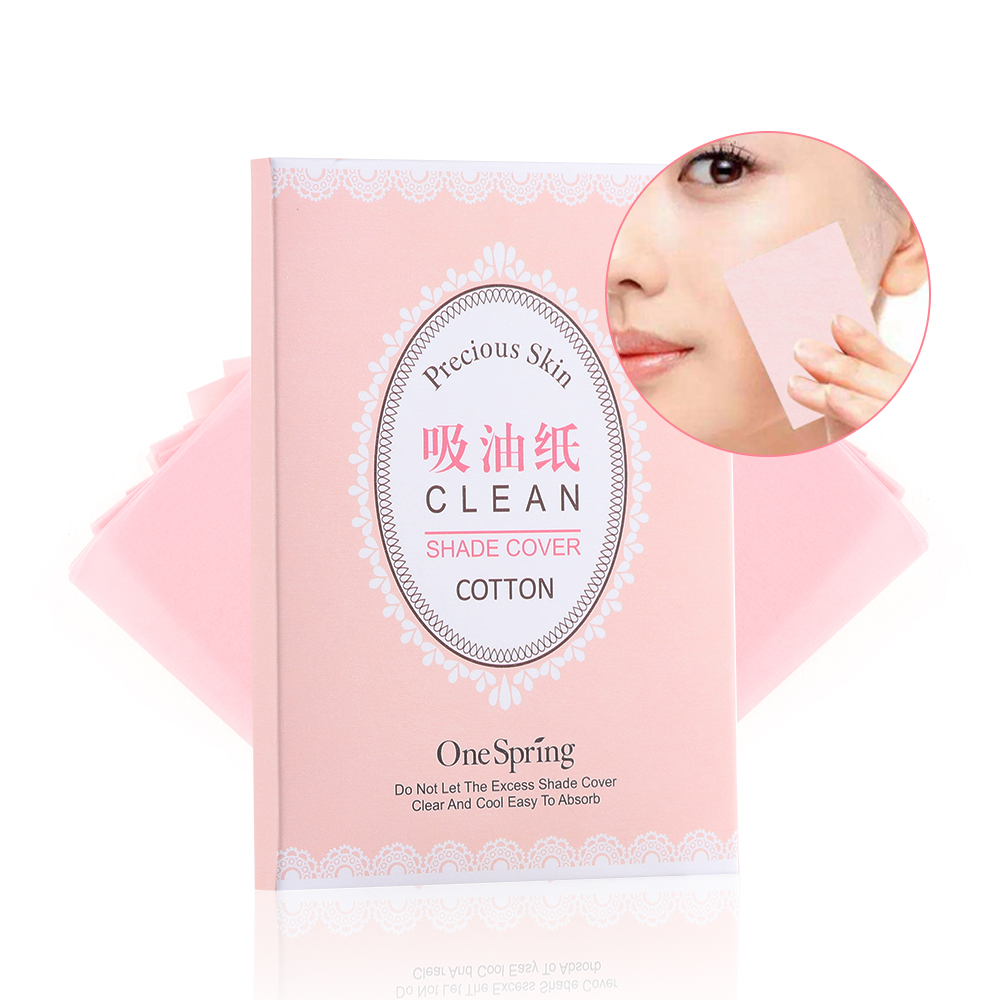 100PCs/pack Tissue Papers Green Tea Smell Makeup Cleansing Oil Absorbing Face Paper Absorb Blotting Facial Cleanser Face Tool
