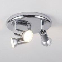 Lámpara de techo nórdica giratoria led, para Loft, cocina, dormitorio, luces colgantes, ángulo ajustable, accesorio de luz colgante