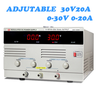 3020D DC power adjustable linear 30V20A digital aging test maintenance regulator source Constant voltage and current full load