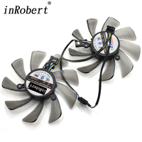 85MM Firstd FD9015U12S DC 12V 0 55A 4PIN Vapor X Dual Cooler Fan For Sapphire XFX