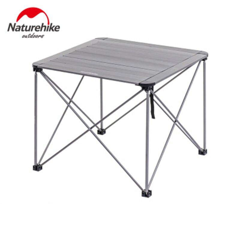 Naturehike открытый складной столик для кемпинга открытый рыбалка кемпинг столы портативный легкий алюминиевый стол Кемпинг Пикник парк