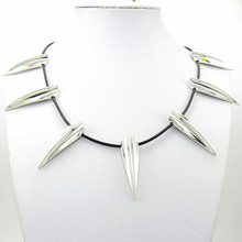 2018 New Avengers Black Panther Necklace Wakanda King T'Challa Black Panther Cosplay Necklace