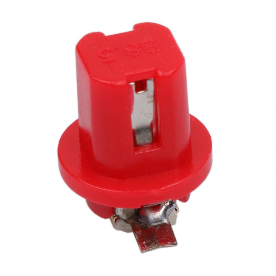 10 шт. B8.5D 509T B8.5 5050 светодиодный 1 SMD T5 лампа Автомобильный датчик Скорость Dash лампы приборная панель светильник клиновидный для салона лампы ...