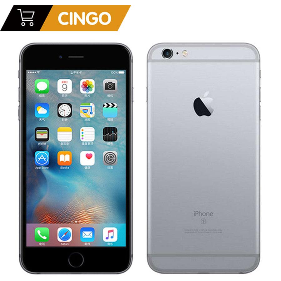 Desbloqueado Apple iPhone 6 S/6 s Mais 2 GB de RAM 16/64/128 GB ROM 4.7 & 5.5 Dual Core 12.0MP Câmera 4 K Vídeo iOS LTE fingerprint