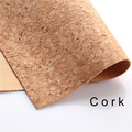 cork fabric Natural beige cork leather natural Material Kork 60*90cm/23*35inch Cor-43