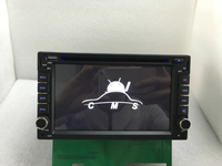 Емкостный Android 6.0 Автомобильный DVD 3G Wi Fi GPS Навигации 2Din стерео Радио автомобиля GPS Bluetooth USB/SD Универсальный плеер