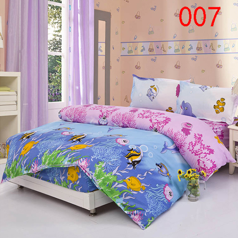 Buy Bed Set: Aliexpress.com : Buy Twin Full Queen Fish Fitted Bed Sheet