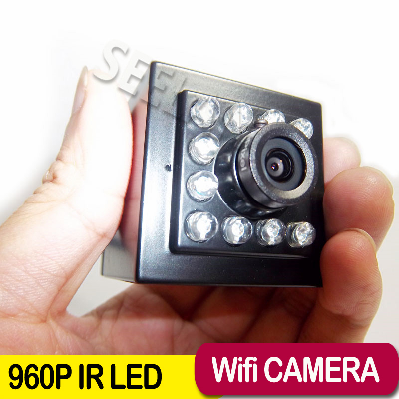 ФОТО 960P mini ip camera wifi 940nm led Security IP Network Camera Night vision Support Phone APP Mini Ip Cam wifi IP Camera Wireless