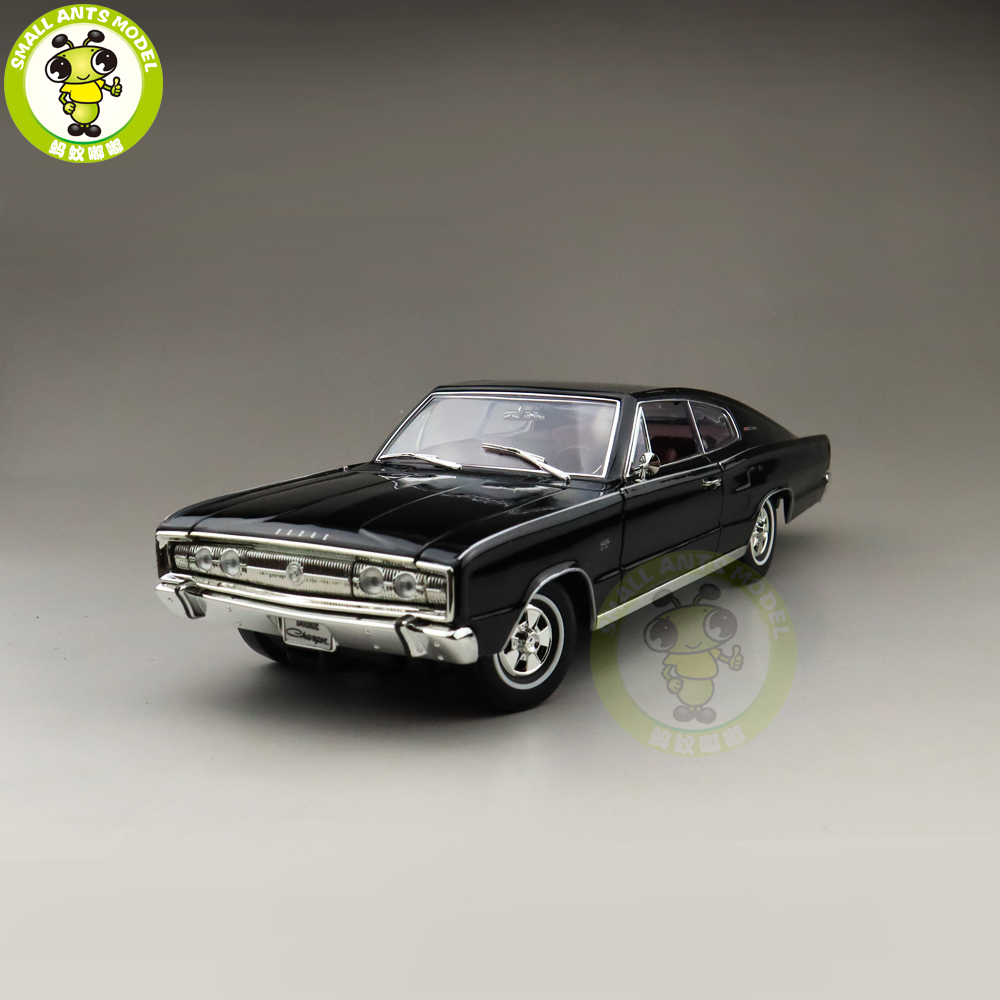 1/18 1966 CHARGER Road Signature Diecast Model Car Toys Boys Girls Gift