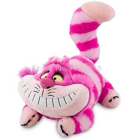 New Cheshire Cat Plush Doll Toy 32cm Cute Stuffed Animals Soft Kids Toys Dolls for Children