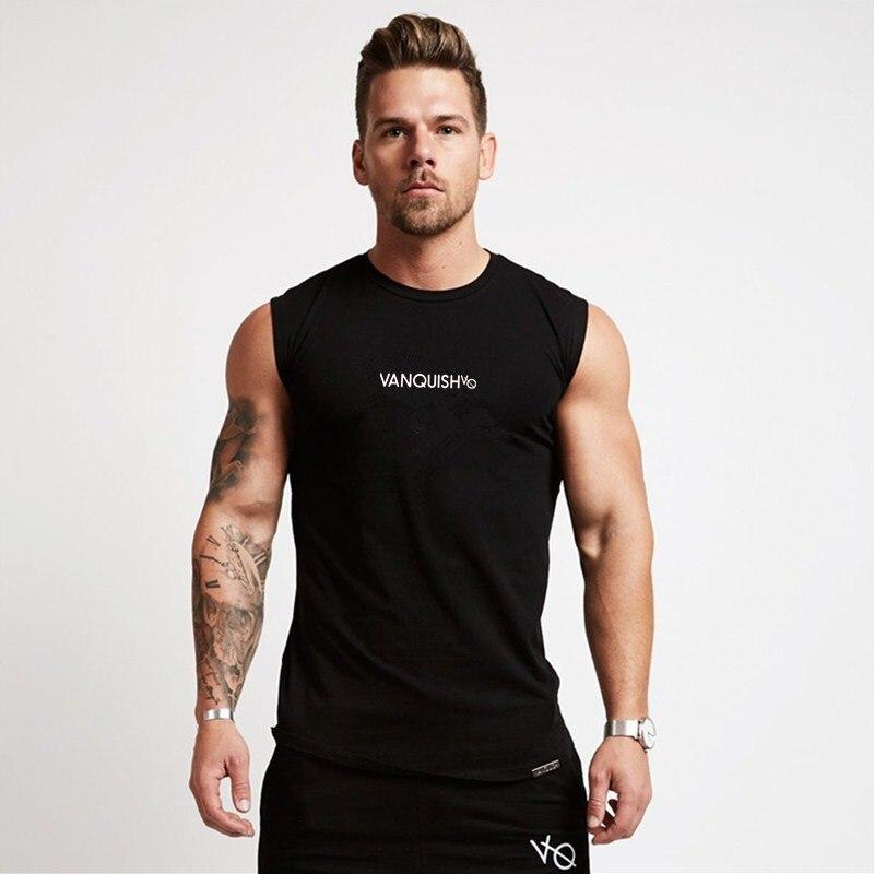 New Brand Mens Compression   Tank     Tops   Men Breathable Suits Men's Cotton Fitness Gyms Suits Men Gyms bodybuilding workout vest