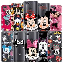Mickey Minnie TPU Case For Xiaomi Pocophone F1 Mi 8 Lite Case FOR Xiaomi Mi A1 A2 5X 6X 5S Plus 4 4C 6 8 SE Explore Note 3 Case