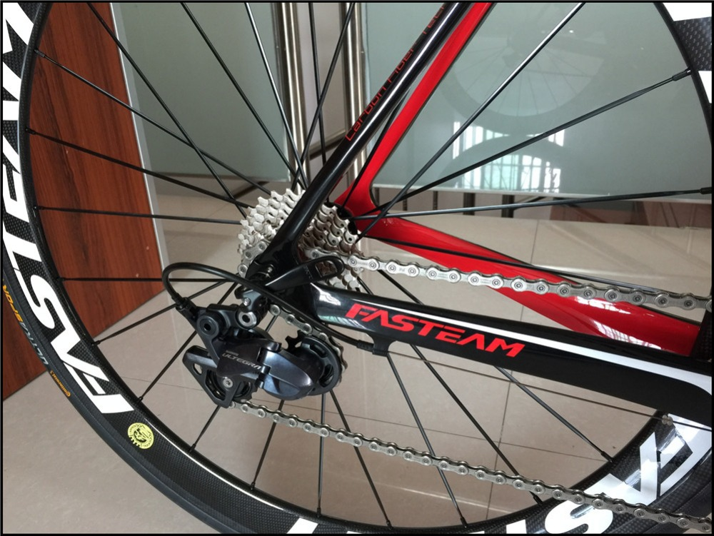 HTB16frloL5TBuNjSspcq6znGFXaM - HOT SALE 2018 New Full Carbon 700C Street Bike Carbon Full Bicycle With Ultegra R8000 22 Velocity Groupset And 50MM Wheelset