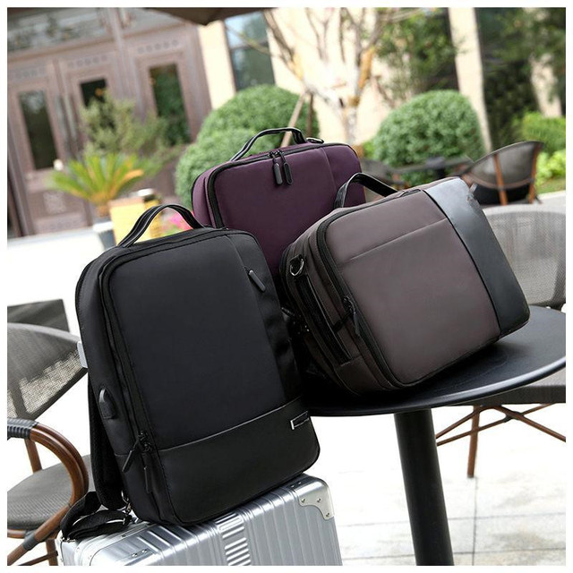 Premium Anti-theft Laptop Backpack with USB Port Multifunction USB charging Men Backpacks For Teenager Fashion Male  5