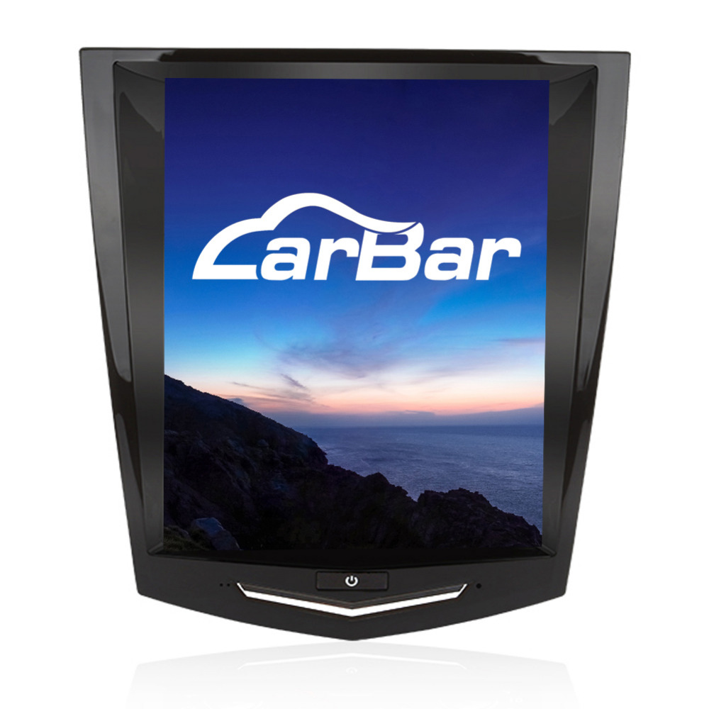 10.4 Vertical Énorme Écran 1024*768 Android Voiture DVD GPS Navigation Radio Lecteur pour Cadillac SRX ATS ATS-L XTS CTS 2013-2017