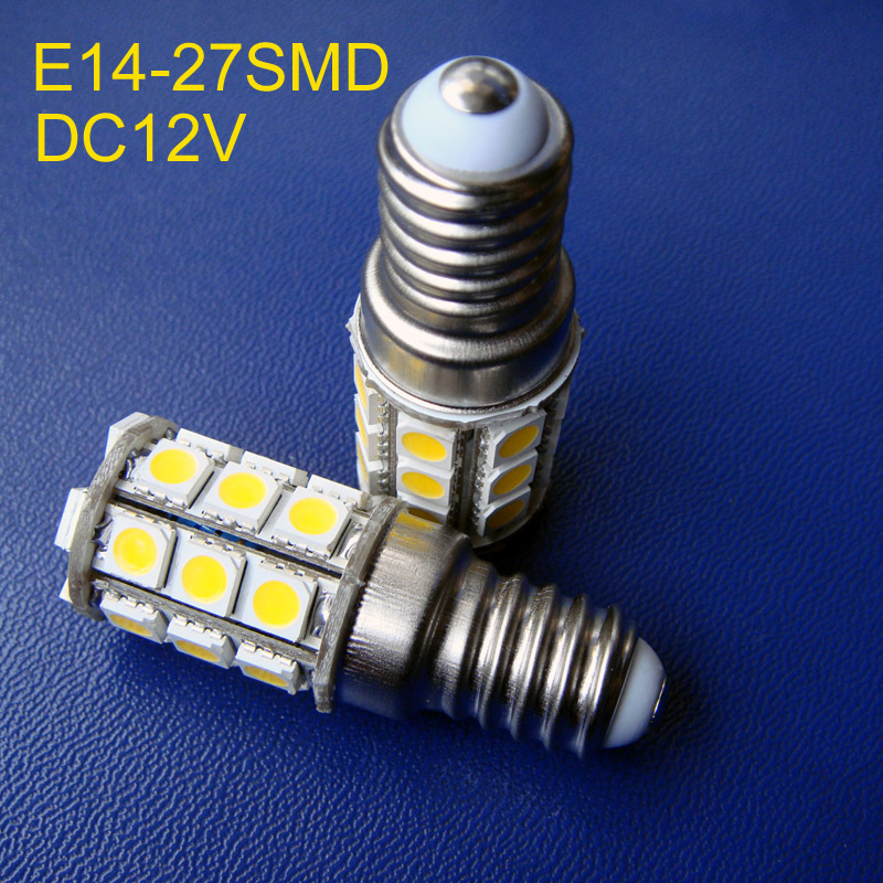 High Quality E14 Led Lights 12v Led Bulbs & Tubes 5050 3 Chips Dc12v E14 Led Bulbs,led E14 Decorative Light E14 Led Lamps Free Shipping 50pcs/lot Lights & Lighting