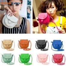 High quality Lovely Cute Girl Pu Leather Mini Small Adjustable Shoulder Bag Handbag