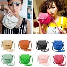 High quality Lovely Cute Girl Pu Leather Mini Small Adjustable Shoulder Bag Handbag