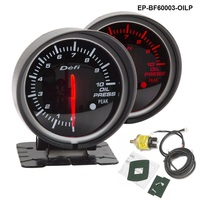 EPMAN BF 60mm LED Oil Pressure Gauge High Quality Auto Car Motor Gauge With Red White