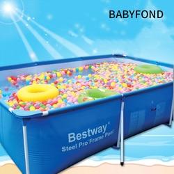 Негабаритных крепление плавательный бассейн и большого размера детский бассейн взрослый плавательный бассейн квадратный надувная лодка
