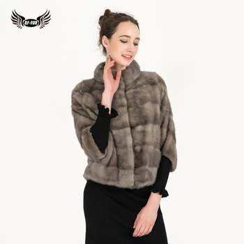 BFFUR High Quality Real Fur Coat Women Fashion Jacket Fur Genuine Thick Warm Winter Mink Fur Coats Natural Luxury Overcoat 2019 kids real mink fur coat baby winter warm colourful mink fur coat child mink fur clothes kids warm jacket