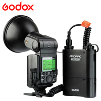 Nuovo godox witstro ad360ii ttl 360 w/s wireless power control outdoor Flash Light + PB960 Power Battery Pack Kit Nero per canon