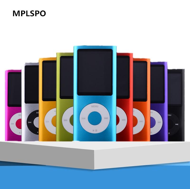 """MPLSBO 1.8 """"LCD 3th נגן MP4 MP3 נגן mp3 תמיכה עד 32 GB כרטיס זיכרון מיקרו sd וידאו תמונה מציג ספר אלקטרוני לקרוא stereophone"""