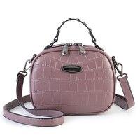 S.p.l. Tote Мода женщин кожаные сумки на ремне реки аллигатора овальная сумка для вечеринки маленькую сумочку двойной слой