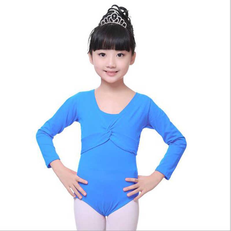 ילדה תינוק בגדי בנות בלט סוודר ילדי התעמלות בגד גוף ארוך שרוול מעיל לעטוף סוודר למעלה מעיל בלט ריקוד בגדי גוף