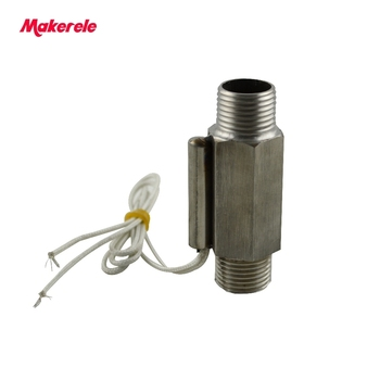 MK-PFS7 Flow Sensor Stainless Steel Hall Effect Liquid Water Flow Sensor Switch Flow Meter From Makerele germany aaron flow cup viscometer stainless steel zahn 4 for printing