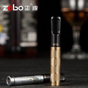 Роскошный металлический фильтр для сигарет унисекс, фильтр для рециркуляции, моющийся, миллипор, фильтрация, держатель для сигарет для мужч...