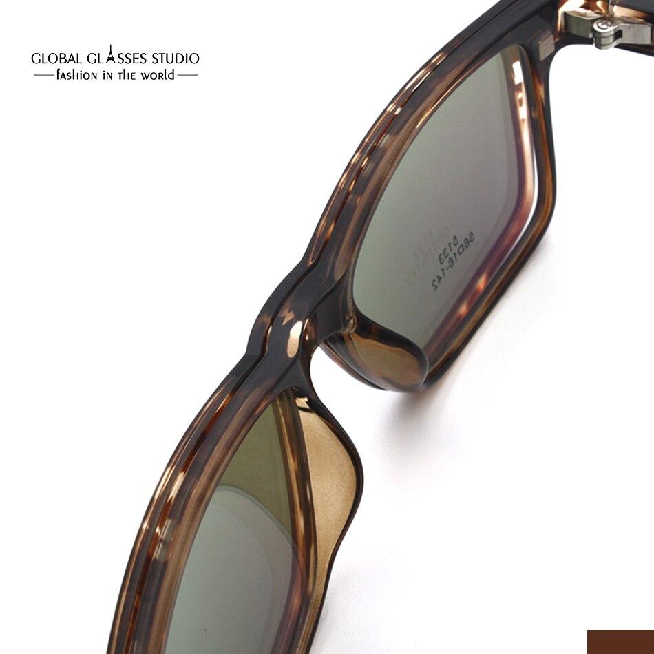db1833f13fc Free Shipping Ultra Light Eyeglass Polarized Magnetic Sunglasses Clip on Latest  Design Portable Sunglasses Fashion Eyewear 5133-in Sunglasses from Apparel  ...