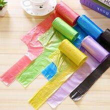 20 Вт, 30 шт/рулон жилет Стиль мешки для мусора сумка для хранения для бытовых отходов мешки для мусора