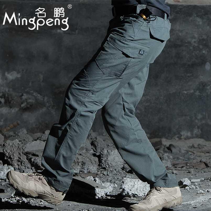 Pantalones Tacticos Militares De Combate Swat Para Hombre Pantalones De Comando Del Ejercito Con Multiples Bolsillos Cargo Informal Primavera Otono Pantalones Informales Aliexpress