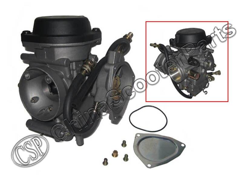 Карбюраторы для мотоциклов ATV kfx 400 kfx400 2003 ~ 2006 utv ЛТЗ 400 ltz400 Raptor 400 ...