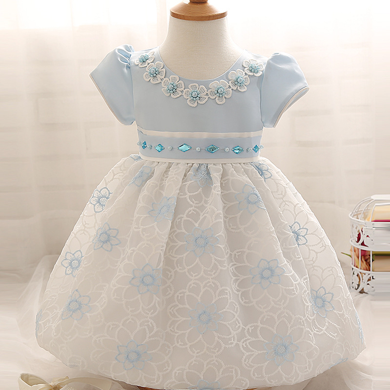 dc5042f54a7c 0 24M Baby Girl Dress Baby Girl Christening Gowns Infant Floral ...