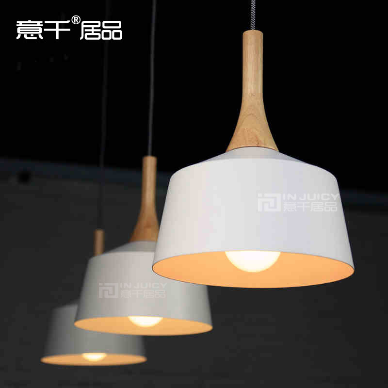 27CM Loft Industrial Edison Style Material Alloy white Cafe Bar Decorative Pendant lamp Club Hall Coffee Shop Bedroom Bedside vintage loft industrial edison flower glass ceiling lamp droplight pendant hotel hallway store club cafe beside coffee shop