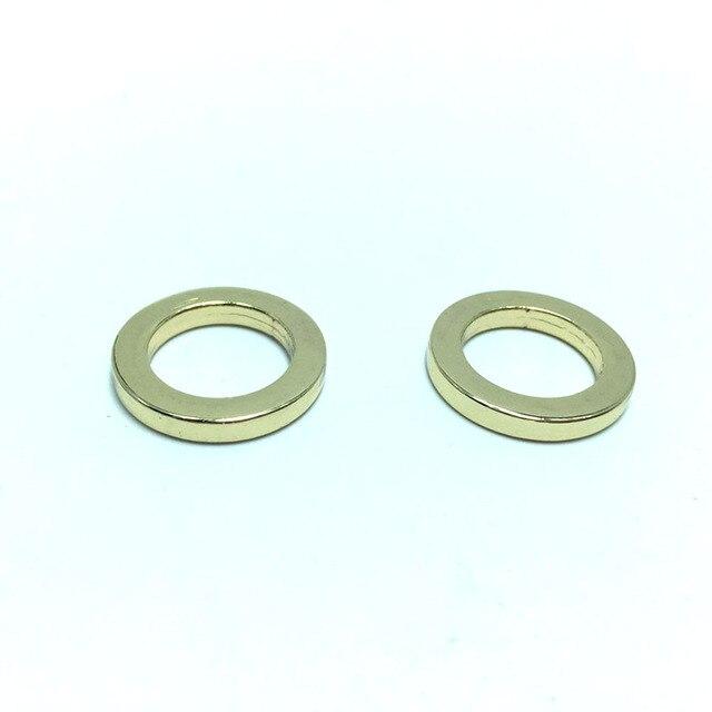 1/2 INCH (inner size) METAL PURSE making hardware O Rings -in Bag ...