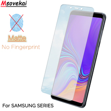 9H Matte Frosted Tempered Glass For SAMSUNG Galaxy A7 A9 2018 A9S A6S J7 J4 J6 Plus Star Pro Screen Protector Film