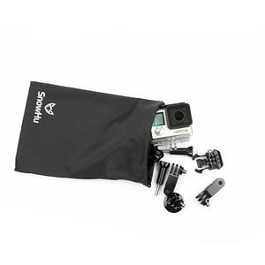 Image 5 - Водонепроницаемая черная Защитная сумка для хранения SnowHu 5 в 1 для GoPro Hero 9 8 7 6 для xiaomi Yi для eken аксессуары для камеры GP52