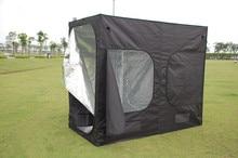 Гидропоники системы сад парниковых Крытый расти палатка 600D 96x48x78 дюймов (240 120 см 200) растущий термостат парниковых окна открывалка