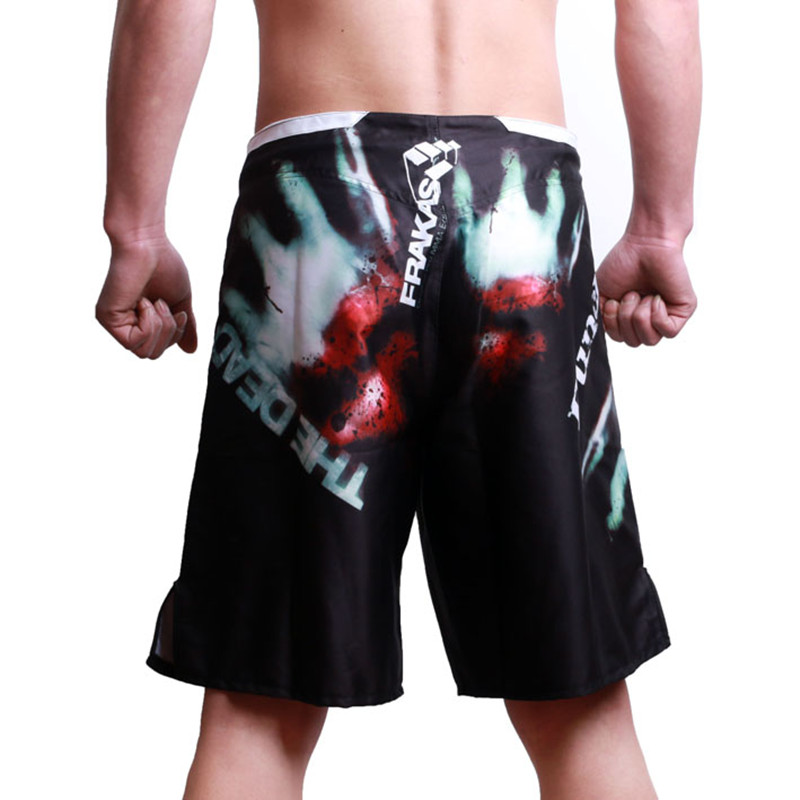 M-XXXL MMA Fight shorts Muay Thai kick boxing gel cage game pants Sanda boxing sport trunks