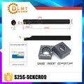 S25S-SCKCR09 75 градусов внутреннего точения держатель инструмента для CCMT09T304 CCMT09T308 вставлять внутренние расточные Бар токарный станок