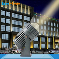 new Waterproof 10W LED Outdoor Wall Lamp LED beam of Light Spotlights Hotel IP65 Remote floodlight Narrow Light