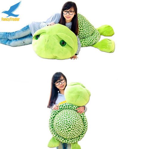 Fancytrader 59\'\' 150cm Lovely Stuffed Soft Giant Tortoise Turtle Toy, Free Shipping FT50059 (8)