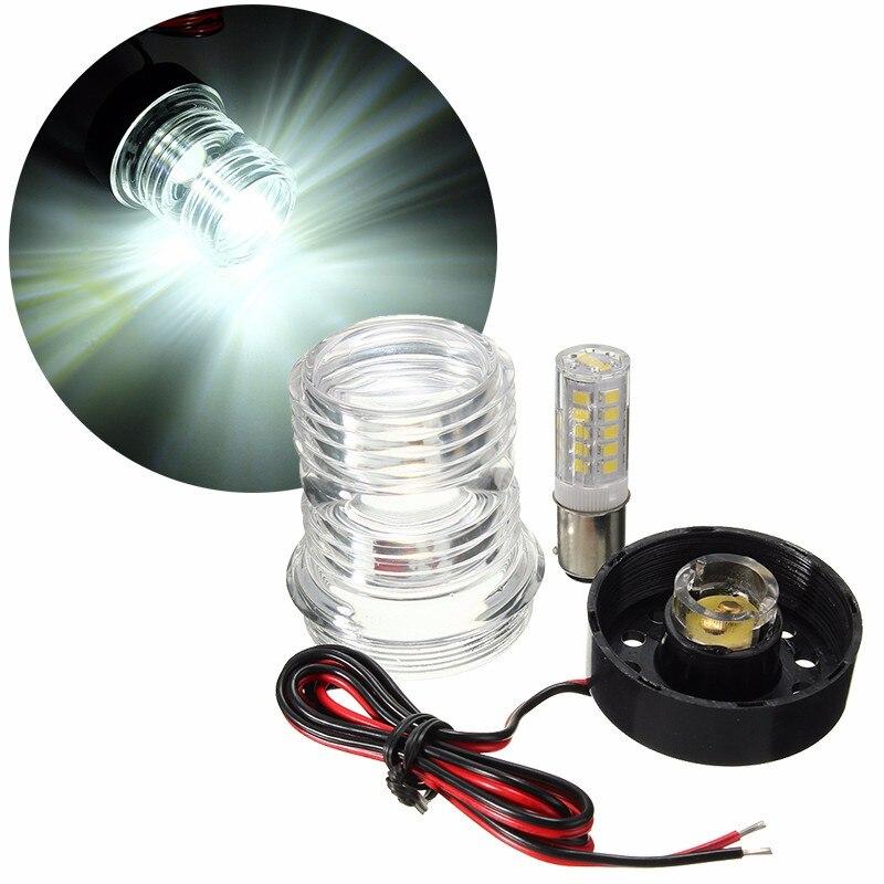 13 SMD 5050 LED Marine Yacht Navigation Anker Licht alle Runde 360 Grad Schiff Licht Pure White 6000 Karat Wasserdicht 12 V