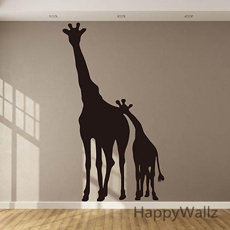 3d giraffe wall sticker baby nursery giraffe wall decal kids room