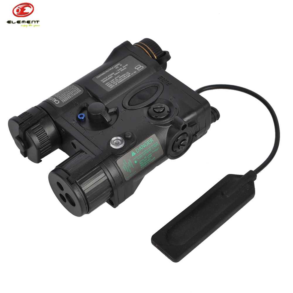 Airsoft Tactical Military Element AN/PEQ-16A Shotgun Laser Pointer & LED Gun Lasers Light Battery Case For Hunting Shooting