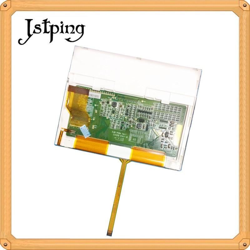 Jstping 5.6 inch a-Si 40pins 640*480 TFT LCD screen for Autoboss V30 V60 GPS car lcds Internal screen display panelJstping 5.6 inch a-Si 40pins 640*480 TFT LCD screen for Autoboss V30 V60 GPS car lcds Internal screen display panel